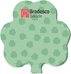 50 Sheet 3 x 3 Shamrock Sticky Notes
